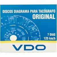 DISCO TACOGRAFO SEMANAL 125KM 7DIAS C/10 VDO - Cod.: 100483