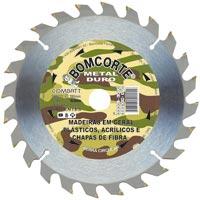 DISCO SERRA CIRCULAR 7.1/4X24DENTES BOMCORTE - Cod.: 100904