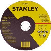 DISCO CORTE FINO INOX/METAL 7X1,6X 7/8 STANLEY - Cod.: 102635