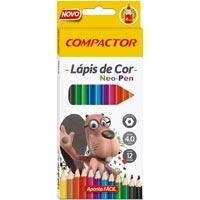 LAPIS COR NEO-PEN 12 CORES COMPACTOR - Cod.: 103154