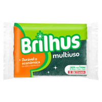 ESPONJA DUPLA FACE MULTIUSO BRILHUS BETTANIN - Cod.: 103993