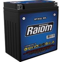 BATERIA MOTO 05AH RTX6L-BS HT RAIOM - Cod.: 104000