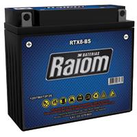 BATERIA MOTO 07 AMP RTX8-BS HT RAIOM - Cod.: 104008