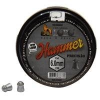 CHUMBINHO ESPING 6,0MM DIABOLO C/100 HAMMER - Cod.: 104804