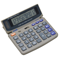 CALCULADORA ELETRON MESA DISPLAY INCLINAV ELGIN - Cod.: 106106