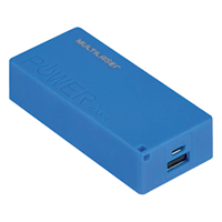 CARREGADOR PORTATIL 4000MAH 1 PORT MULTILASER - Cod.: 106623