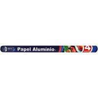 PAPEL ALUMINIO 4MX45CM UDMAIS FOXLUX - Cod.: 106850
