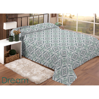 COLCHA P/ CAMA CASAL QUEEN DREAM 2,4X2,2M ESTAMP - Cod.: 107136