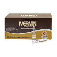 IVERMIN IVERMECTINA 1ML CALBOS - Cod.: 107776