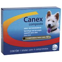 CANEX COMPOSTO COMPRIM CEVA - Cod.: 109419