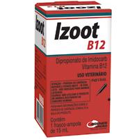 IZOOT B12 INJ 15ML UNIAO QUIMICA - Cod.: 110007