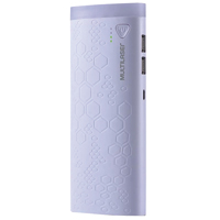 CARREGADOR PORTATIL 10000MAH 2 PORT USB MULTILASER - Cod.: 110463