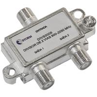 DIVISOR ANTENA 1X2 5-2400MHZ SATELITE STORM - Cod.: 113039