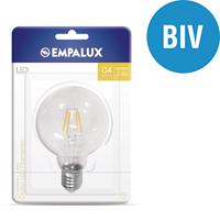 LAMPADA LED FILAM GLOBO 04W BIV LUZ NEUT EMPALUX - Cod.: 113306