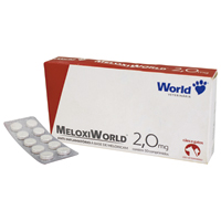MELOXIWORLD 2,0MG CARTUC BLIST C/10 COMP WORLD PET - Cod.: 113338