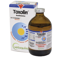 TOXOLIN ANTITOXICO 100ML VETOQUINOL - Cod.: 113599