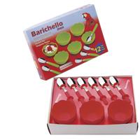 JOGO SOBREMESA PLAST/INOX 12PC VRM BARICHELLO - Cod.: 114119