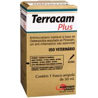 TERRACAM PLUS INJ 50ML UNIAO QUIMICA - Cod.: 114929