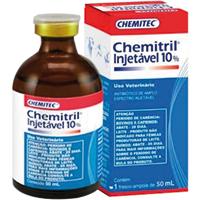 CHEMITRIL INJ 10% 50ML CHEMITEC - Cod.: 115404