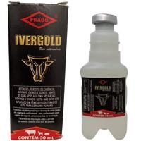 IVERGOLD INJETÁVEL 1% 50ML PRADO - Cod.: 115585