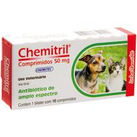 CHEMITRIL 050MG C/10 COMPRIM CHEMITEC - Cod.: 115608