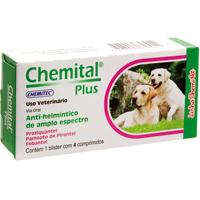 CHEMITAL PLUS C/4 COMPRIM CHEMITEC - Cod.: 115644