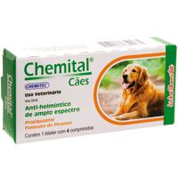 CHEMITAL CAES C/4 COMPRIM CHEMITEC - Cod.: 115645