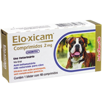 ELO-XICAM 2,0MG C/10 COMPRIM CHEMITEC - Cod.: 115659