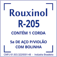 CORDA VIOLAO ENCAPADA LA R205 ROUXINOL - Cod.: 116428