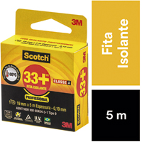 FITA ISOLANTE PTA 05M SCOTCH 33+ 3M - Cod.: 116740