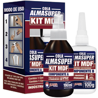 COLA INST P/ MDF KIT ALMASUPER - Cod.: 117119