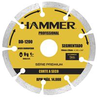 DISCO DIAMANT HAMMER SEGMENTADO - Cod.: 117125