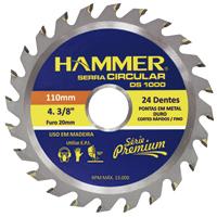 DISCO SERRA CIRC 4.3/8 24DT HAMMER - Cod.: 117129