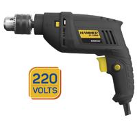 FURADEIRA IMPACTO 3/8 550W 220V HAMMER - Cod.: 117131