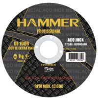 DISCO CORTE INOX 4.1/2X1,0X7/8 HAMMER - Cod.: 117134