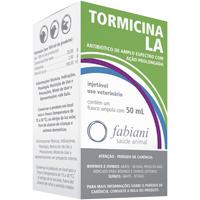TORMICINA LA INJ 50ML FABIANI #I - Cod.: 117300
