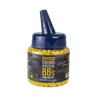 ESFERA PLAST 6MM 12G P/ AIRSOFT C/1000 ROSSI - Cod.: 118982