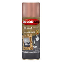 TINTA SPRAY COLORGIN METAL ROSE GOLD 350ML - Cod.: 119249