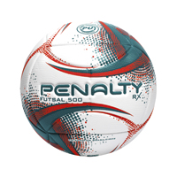 BOLA FUTSAL OFICIAL RX 500 PENALTY - Cod.: 119278