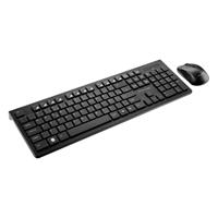KIT TECLADO/MOUSE S/ FIO USB PTO MULTILASER - Cod.: 119596