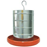 COMEDOURO AVES TUB 20KG PRATO PLAST ZATTI - Cod.: 13905