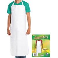 AVENTAL PVC 1,15X0,60 REFOR ACOUGUE BCO PLASTNOVA - Cod.: 14651