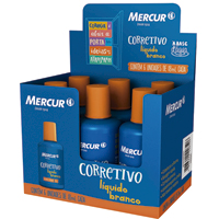CORRETIVO LIQ BASE D'AGUA 18ML MERCUR - Cod.: 18347