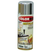 TINTA SPRAY COLORGIN METAL CROM 350ML - Cod.: 20509