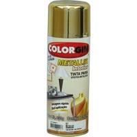 TINTA SPRAY COLORGIN METAL DOURADO 350ML - Cod.: 20510