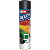 TINTA SPRAY COLORGIN DECOR PTO 360ML - Cod.: 20513