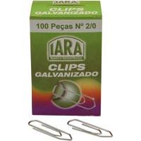 CLIPS GALV 2/0 C/100 IARA - Cod.: 2178