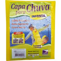CAPA CHUVA INFANTIL PLASTNOVA - Cod.: 2498