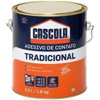 COLA CONTATO 2,8KG S/ TOLUOL CASCOLA - Cod.: 2524