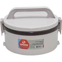 MARMITA TERM PLAST 1,5L 1 PRATO S/ DIV TECKOR - Cod.: 3241